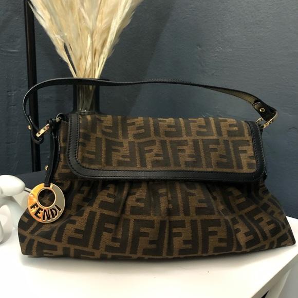 Fendi Handbags - Authentic Fendi Zucca Bag